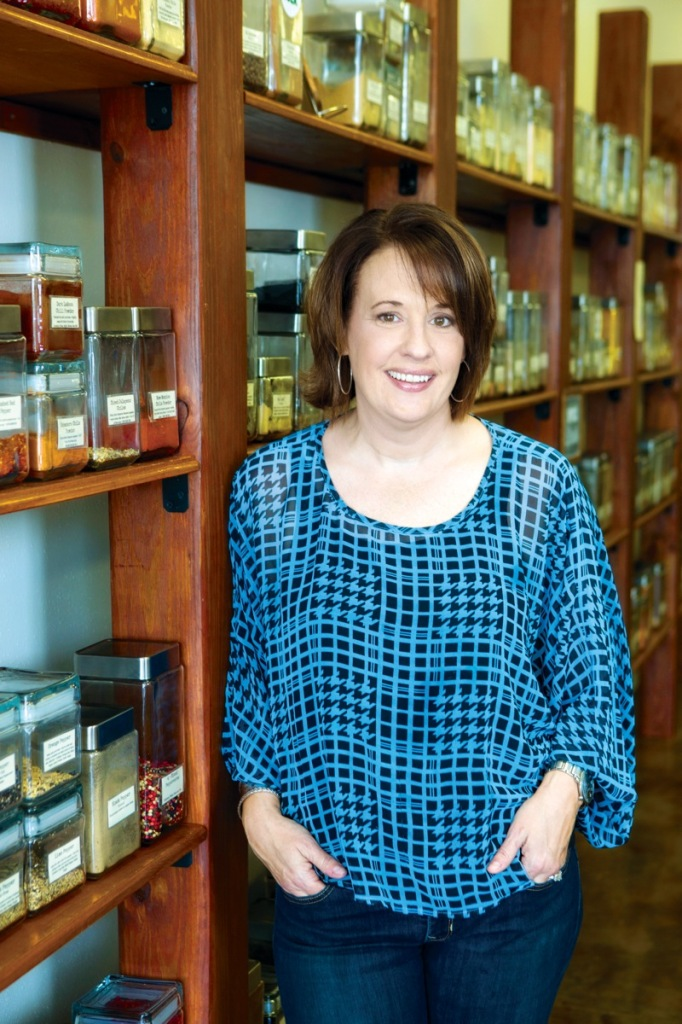 Red Stick Spice Company owner Anne Milneck can help you master the spice of life. (photo by Collin Richie)