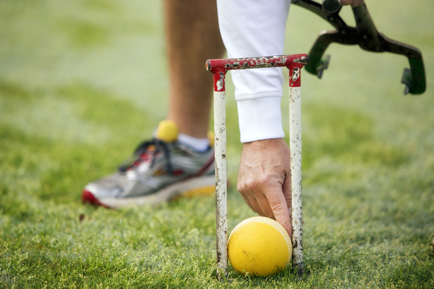how to make croquet wickets