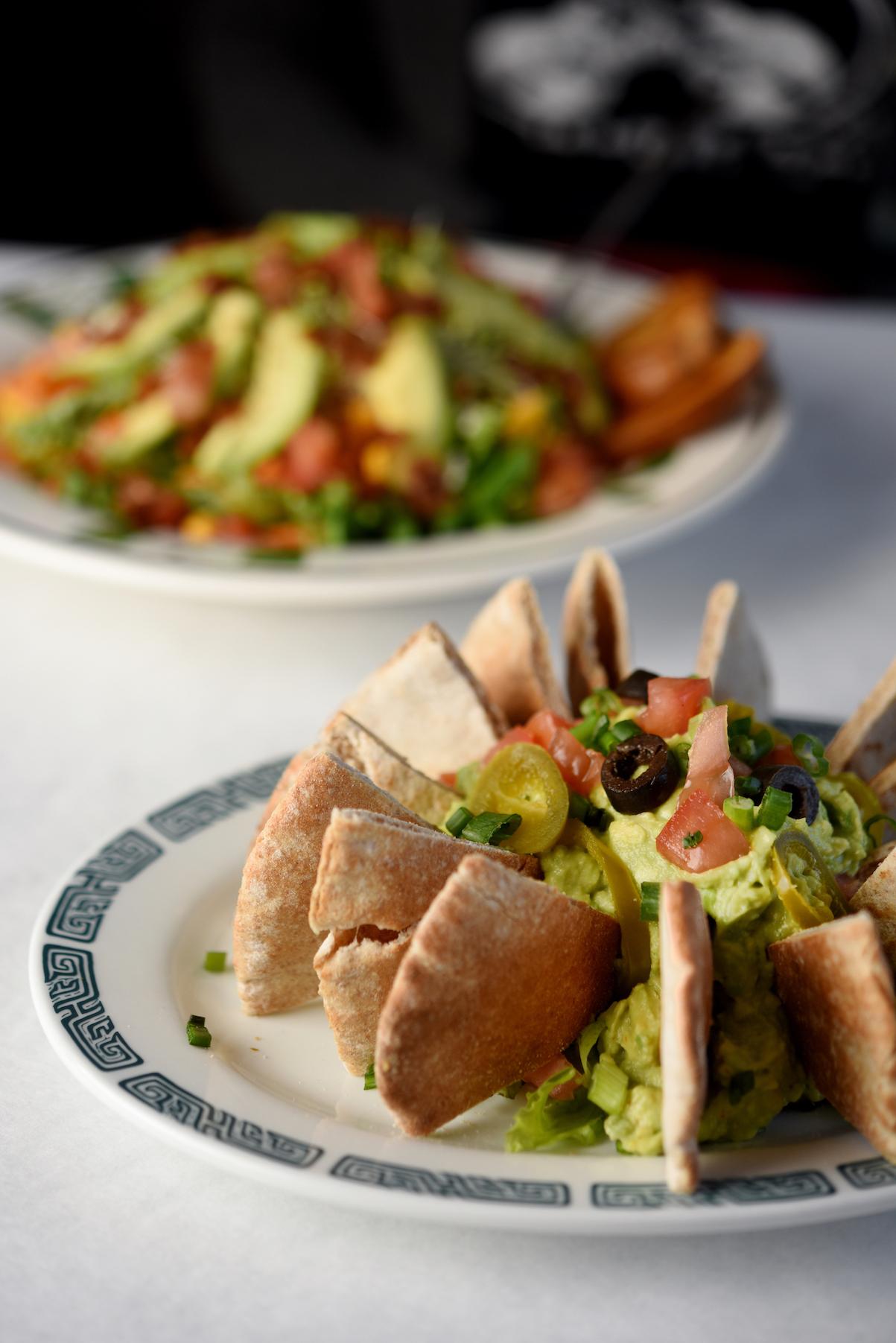 Magnolia Cafe's guacamole with pita