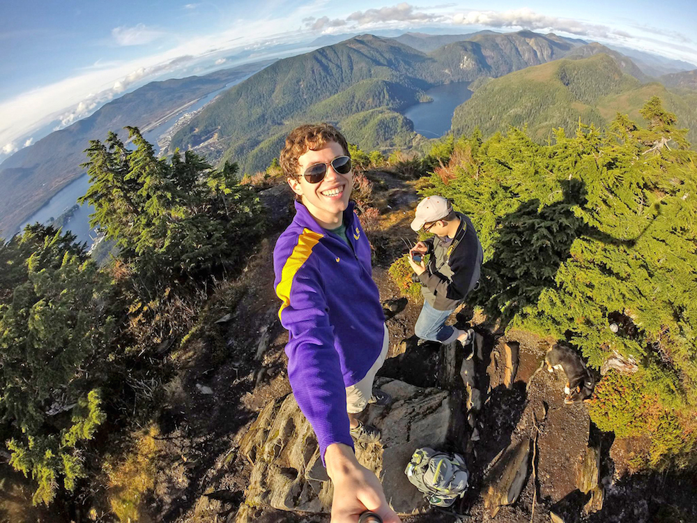 Photographer and Baton Rouge native Taylor Balkom spends much of his free time hiking through the mountains near Ketchikan.