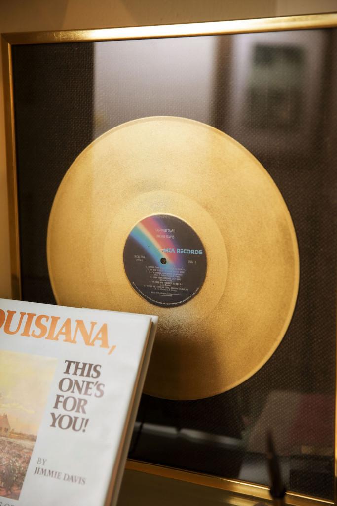 One of Davis' Golden Records