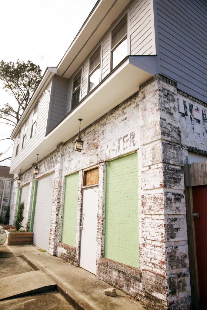 Moran built an apartment above his Mid City Handmade studio.