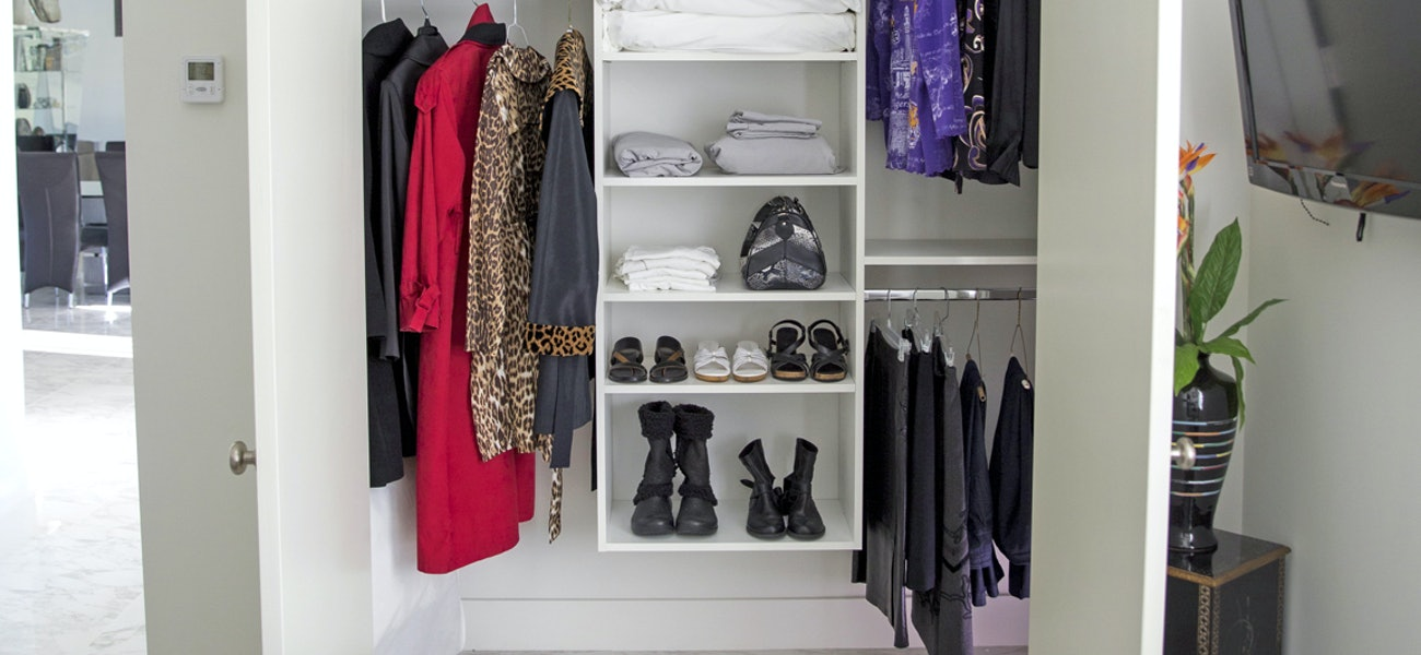 A well-organized closet is a game changer - [225]