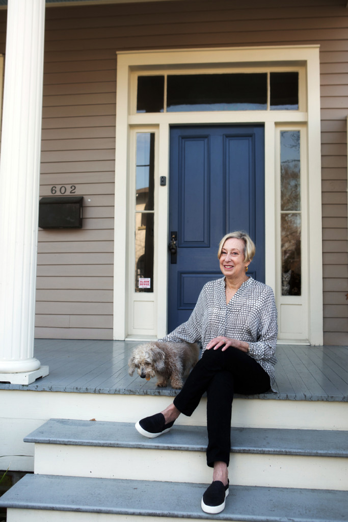 Suzanne Turner has lived in the Beauregard Town neighborhood for 30 years. (Photo by Stephanie Landry)