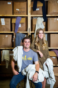 Mason Dupré and Natalie John are the Baton Rougeans behind Woolly Threads. Photo by Collin Richie.