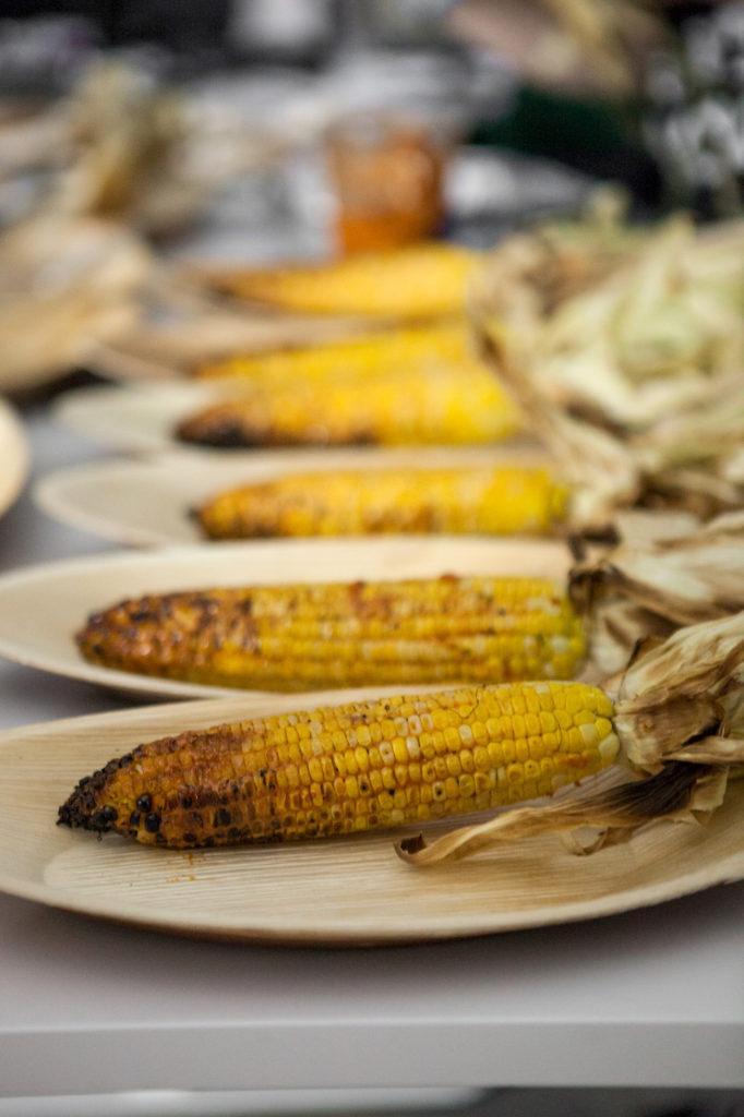 Street Corn, Cotija Crumble, Chili Rub