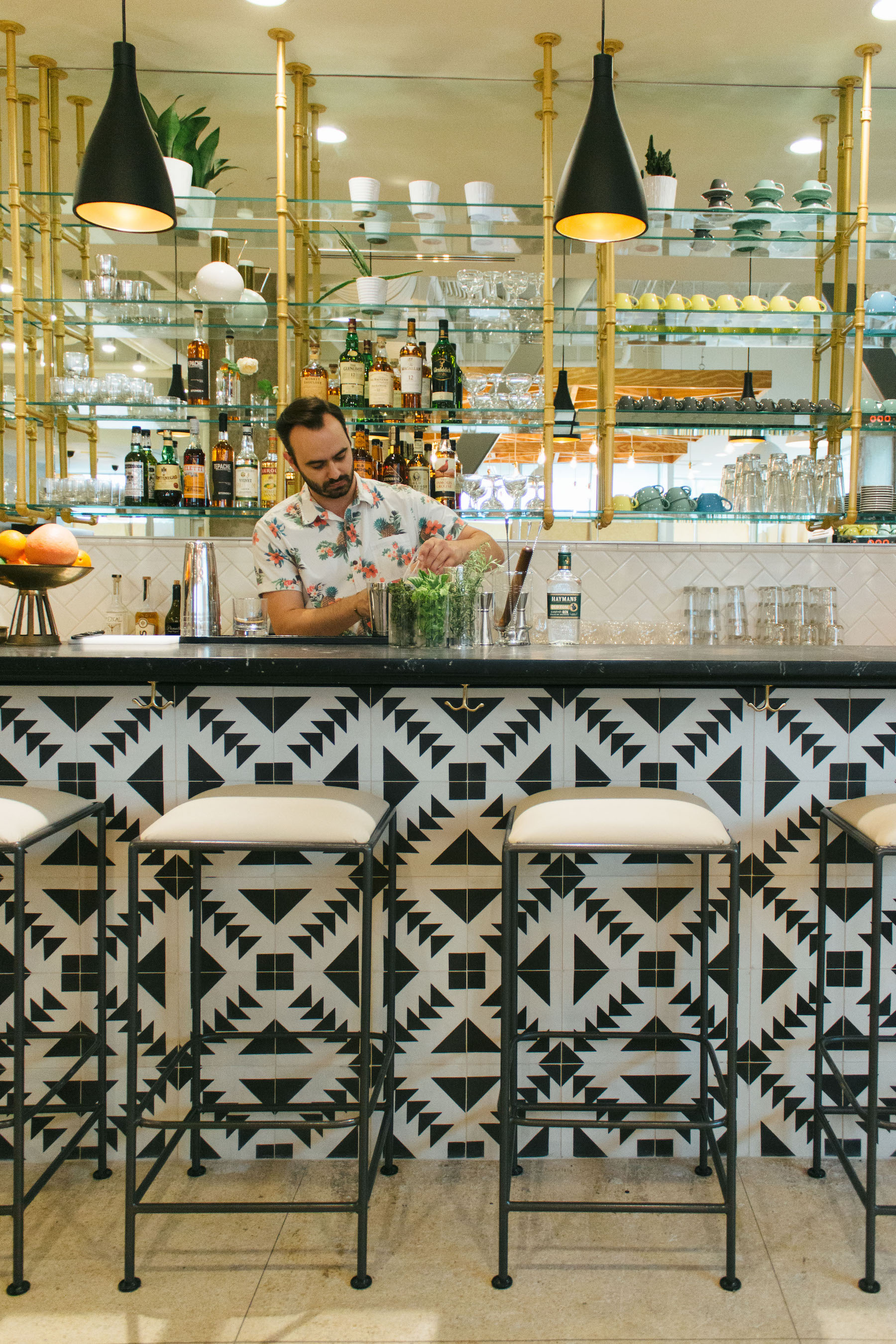The New Downtown Magpie Cafe Will Offer A Full Cocktail Bar.