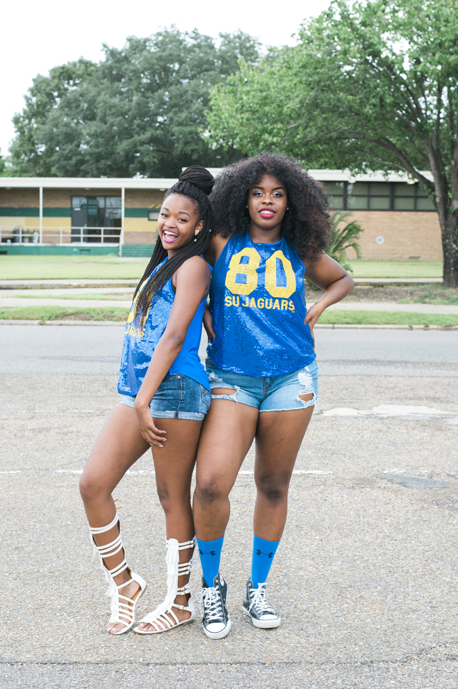 What Lsu And Southern University Students And Fans Wore To