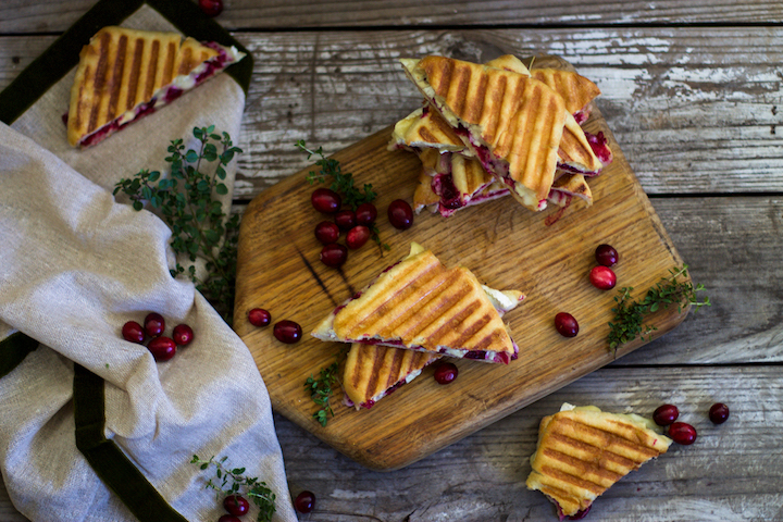 Cranberry Paninis. Photo courtesy Leigh Ann Chatagnier