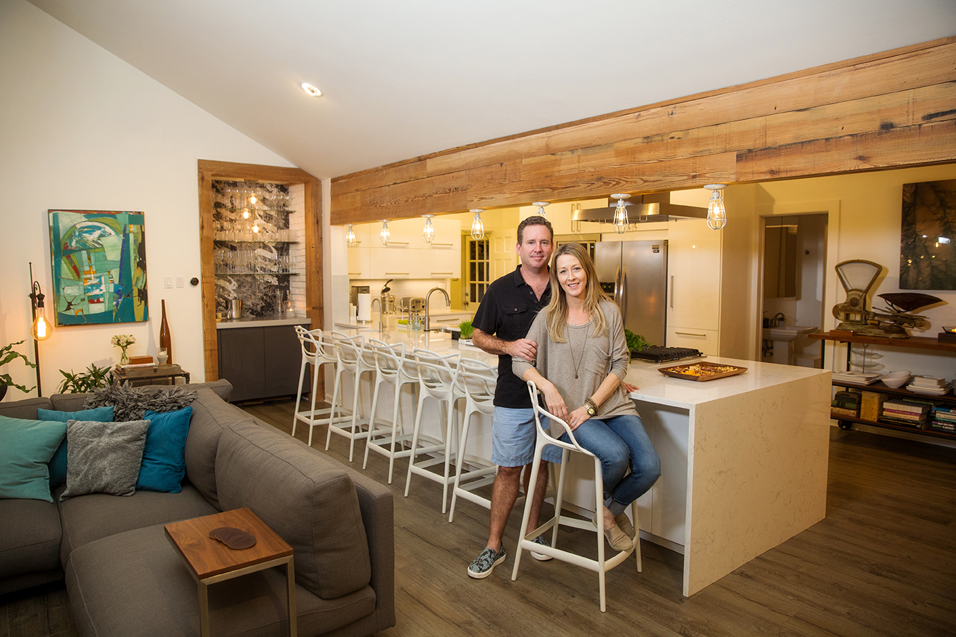 A Couple Who Met In Hollywood Come Home To Create Their Dream House