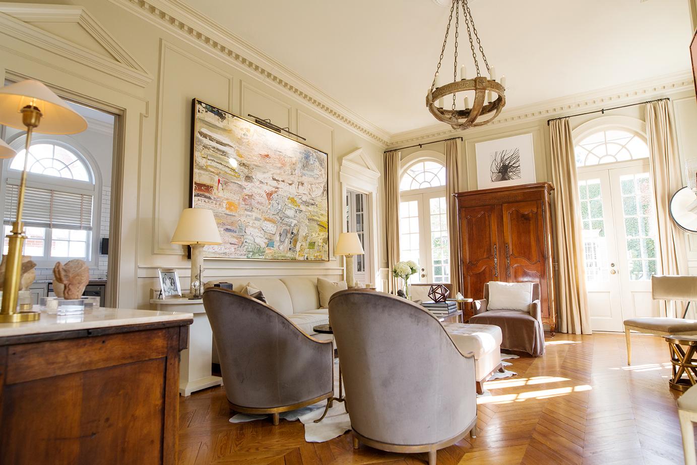Local interior designers and an antique shop owner took a for Local interior designers