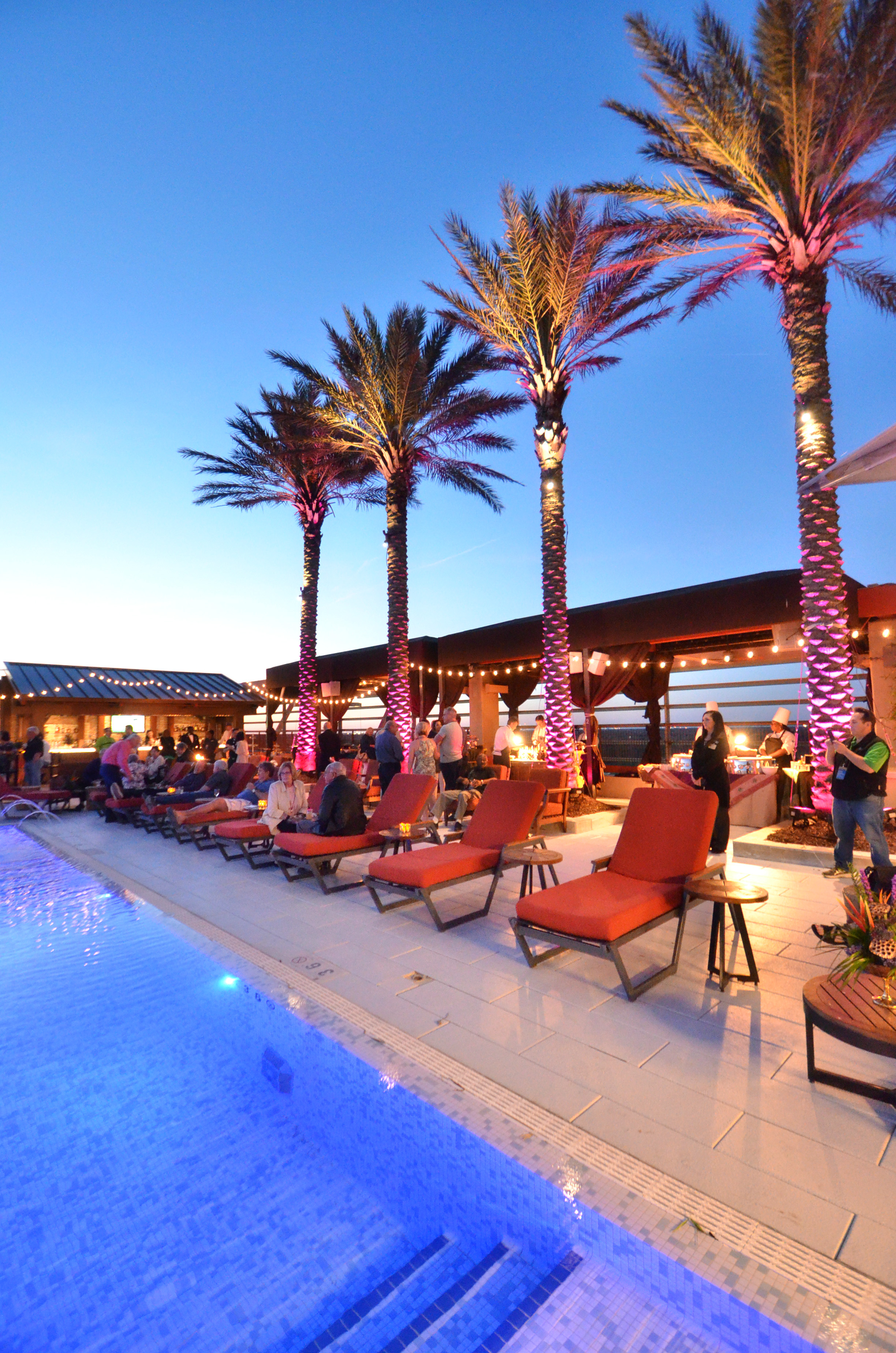 Party On The Rooftop At L Auberge S Summer Poolside Series