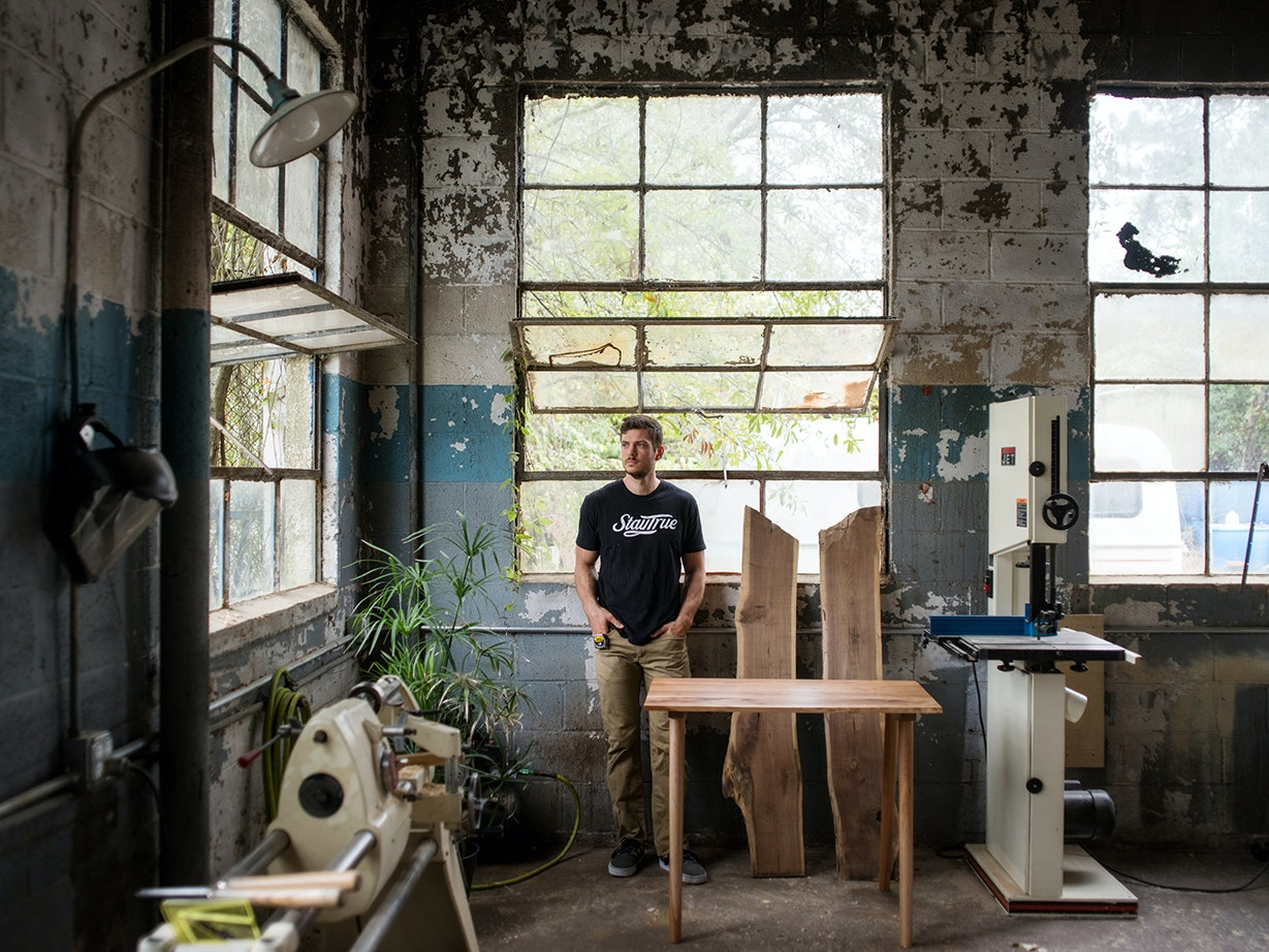 Exceptionnel Why Local Furniture Handcraftsman Conrad Freeman Was Made To Make   [225]