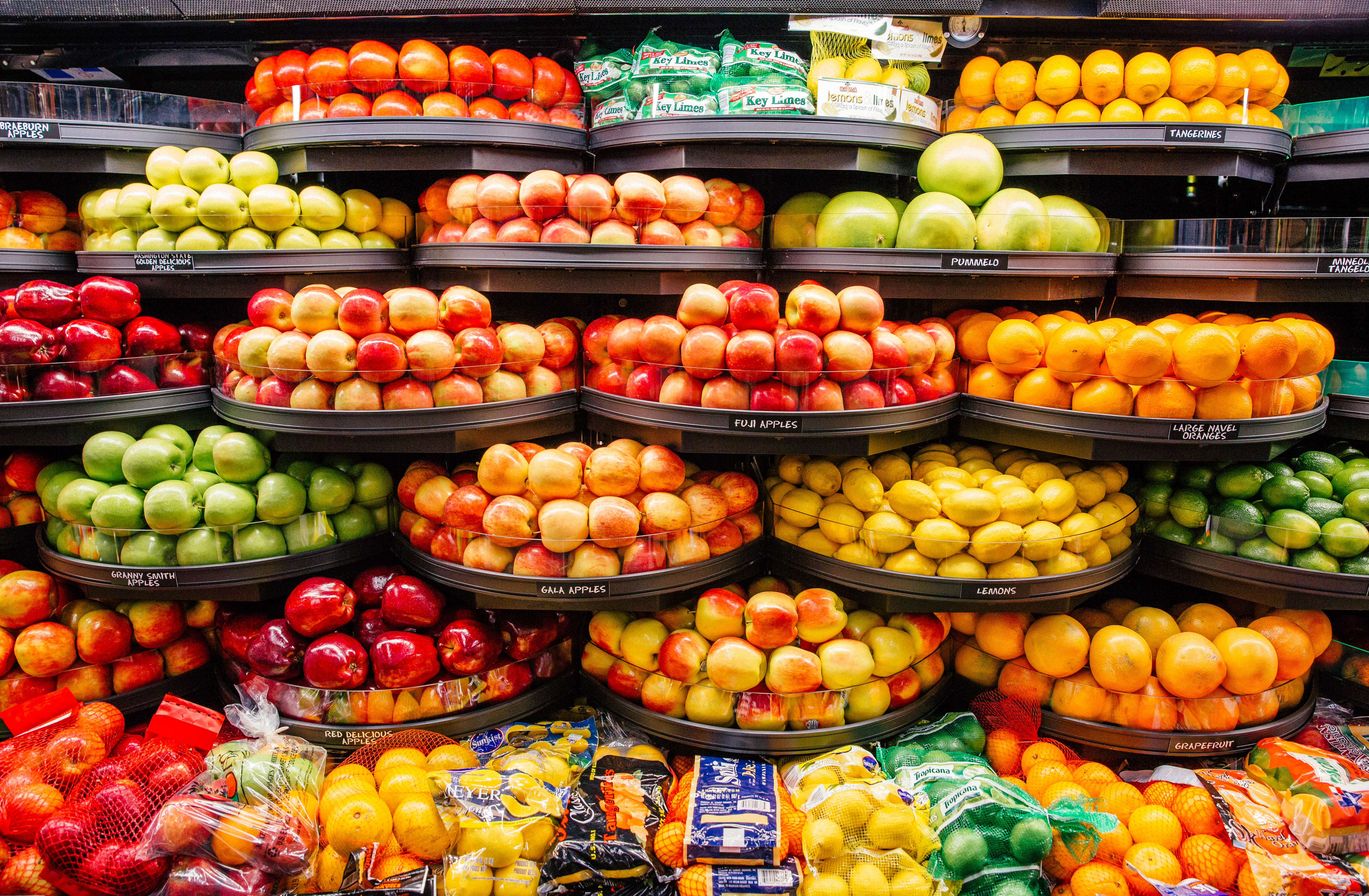Rouses Roots Are In The Produce Industry So Its No Surprise Section Is Elevated Beyond Norm Baskets Filled With Colorful Fruits And