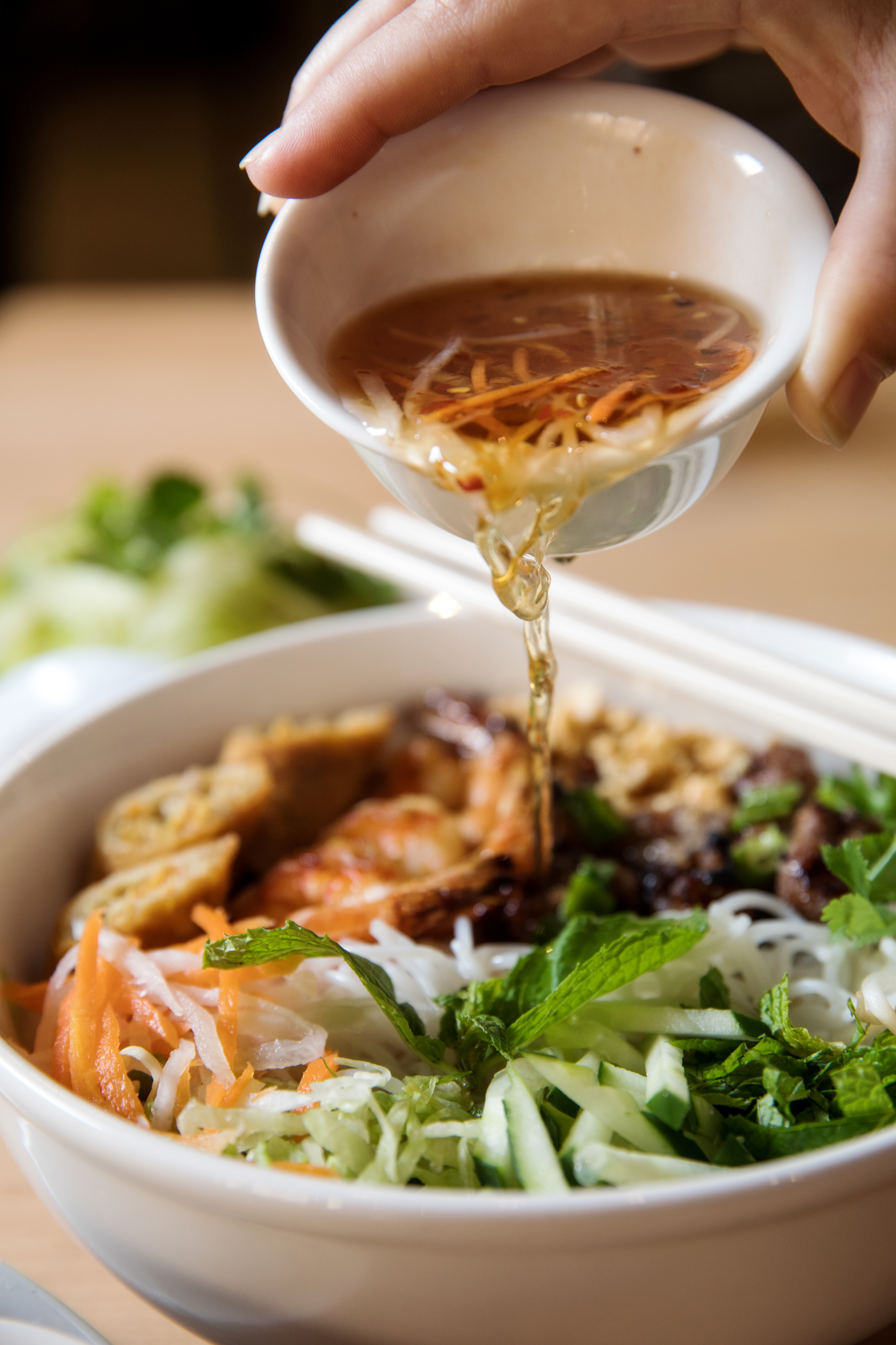 Go to noodle heaven with the bold flavors and adventurous