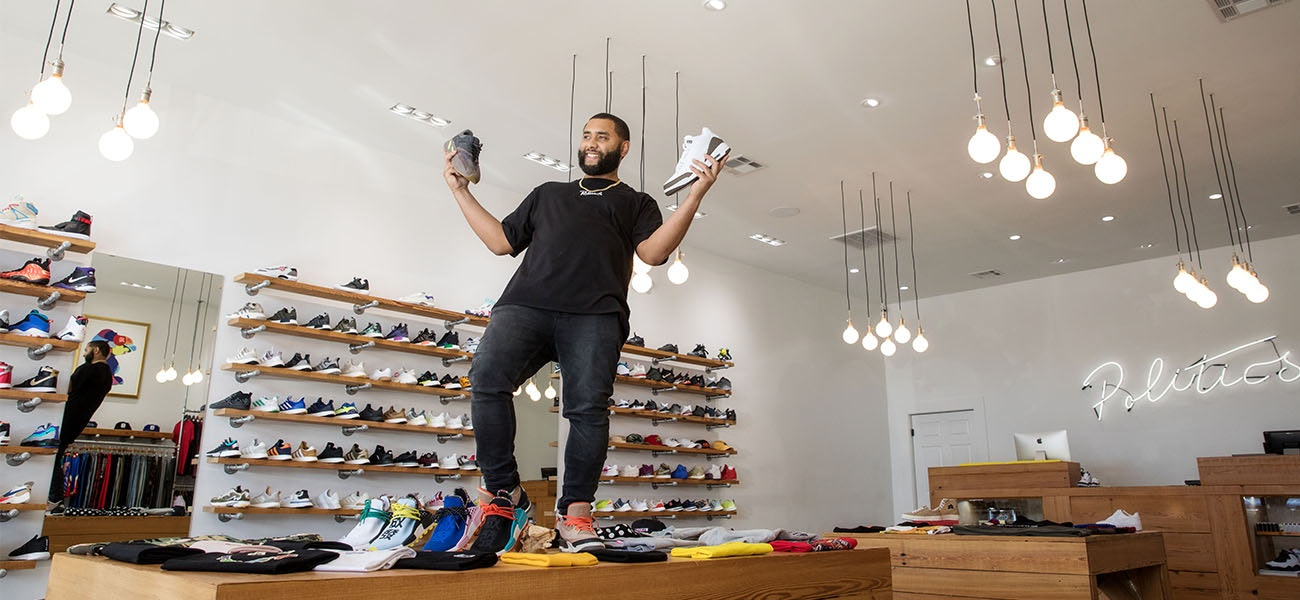 f5e1c84712c01 A sneaker boutique is bringing exclusive shoes and apparel to Baton  Rouge—including some one-of-a-kind Louisiana-born collabs