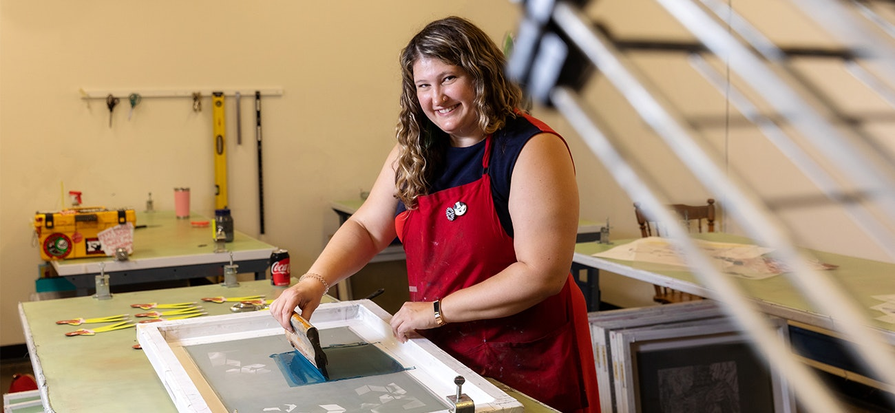 A screenprint artist grapples with identity, community and maybe