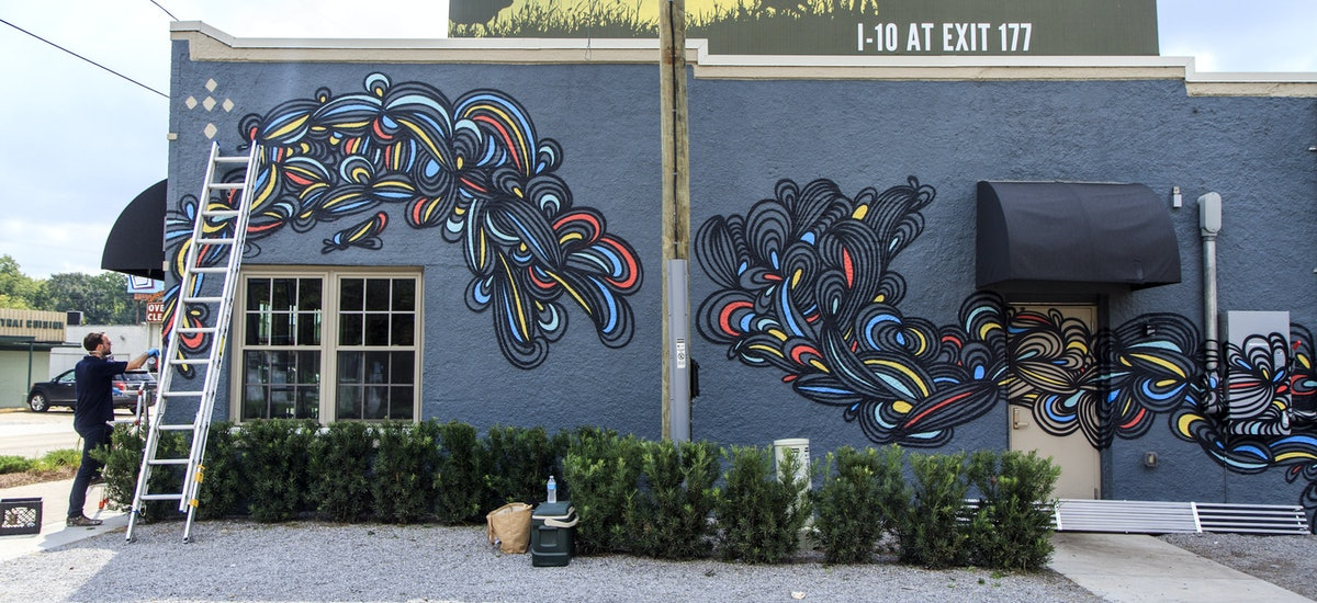 Stupendous Are Abstract Murals And Blobs The Next Baton Rouge Download Free Architecture Designs Scobabritishbridgeorg