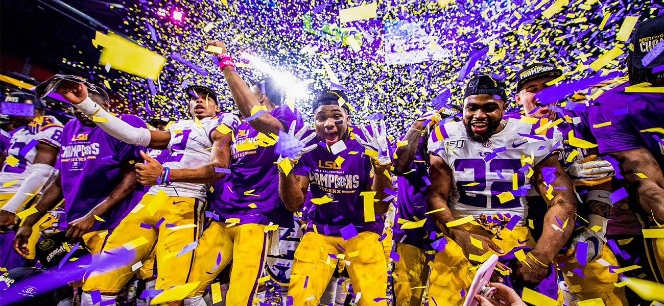 The Passes Plays And Presentations We Ll Always Remember From Lsu Football S Historic National Championship Season 225