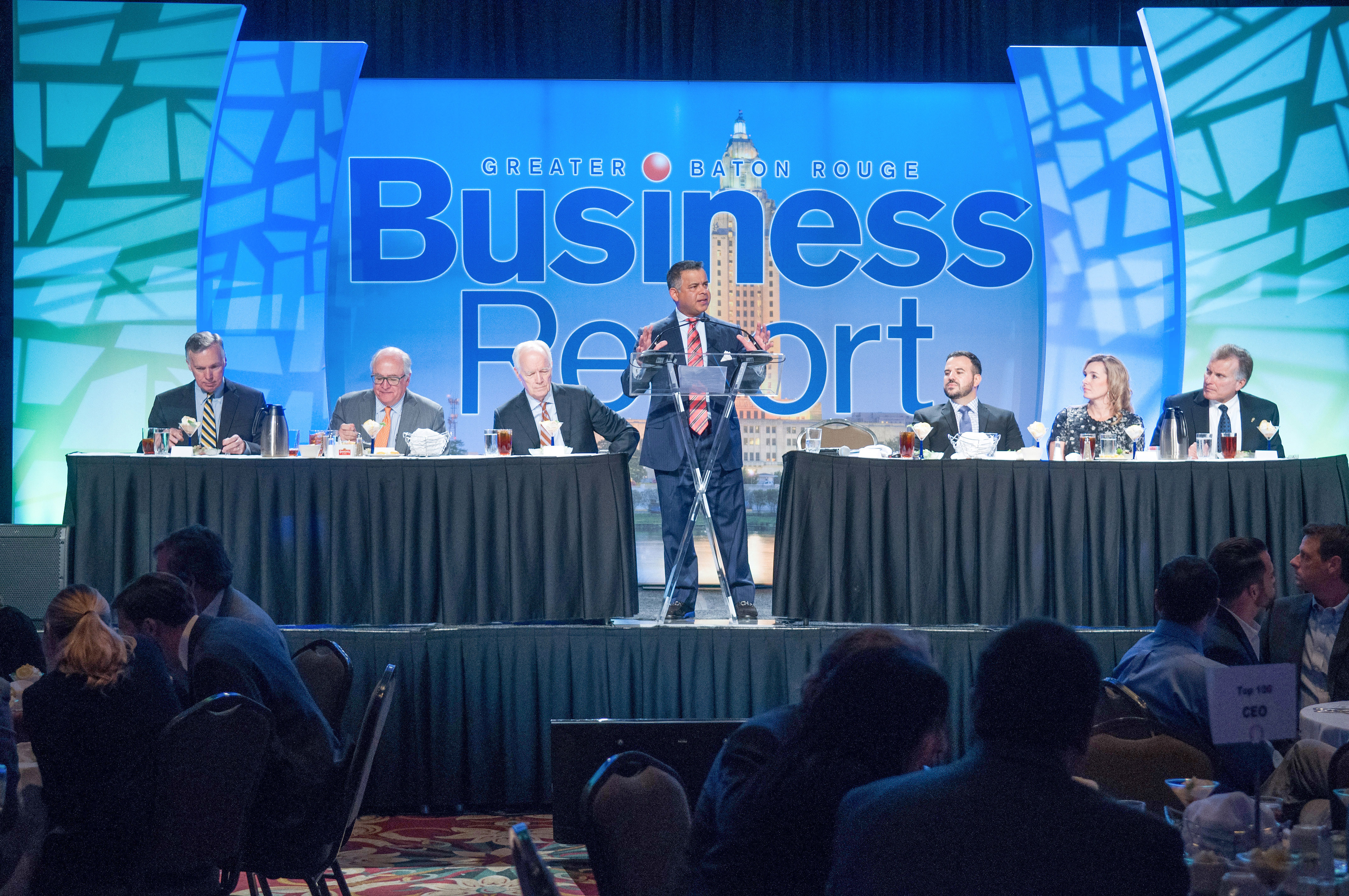 baton rouge business report awards show