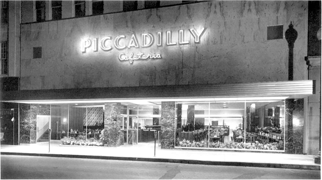 Piccadilly downtown location