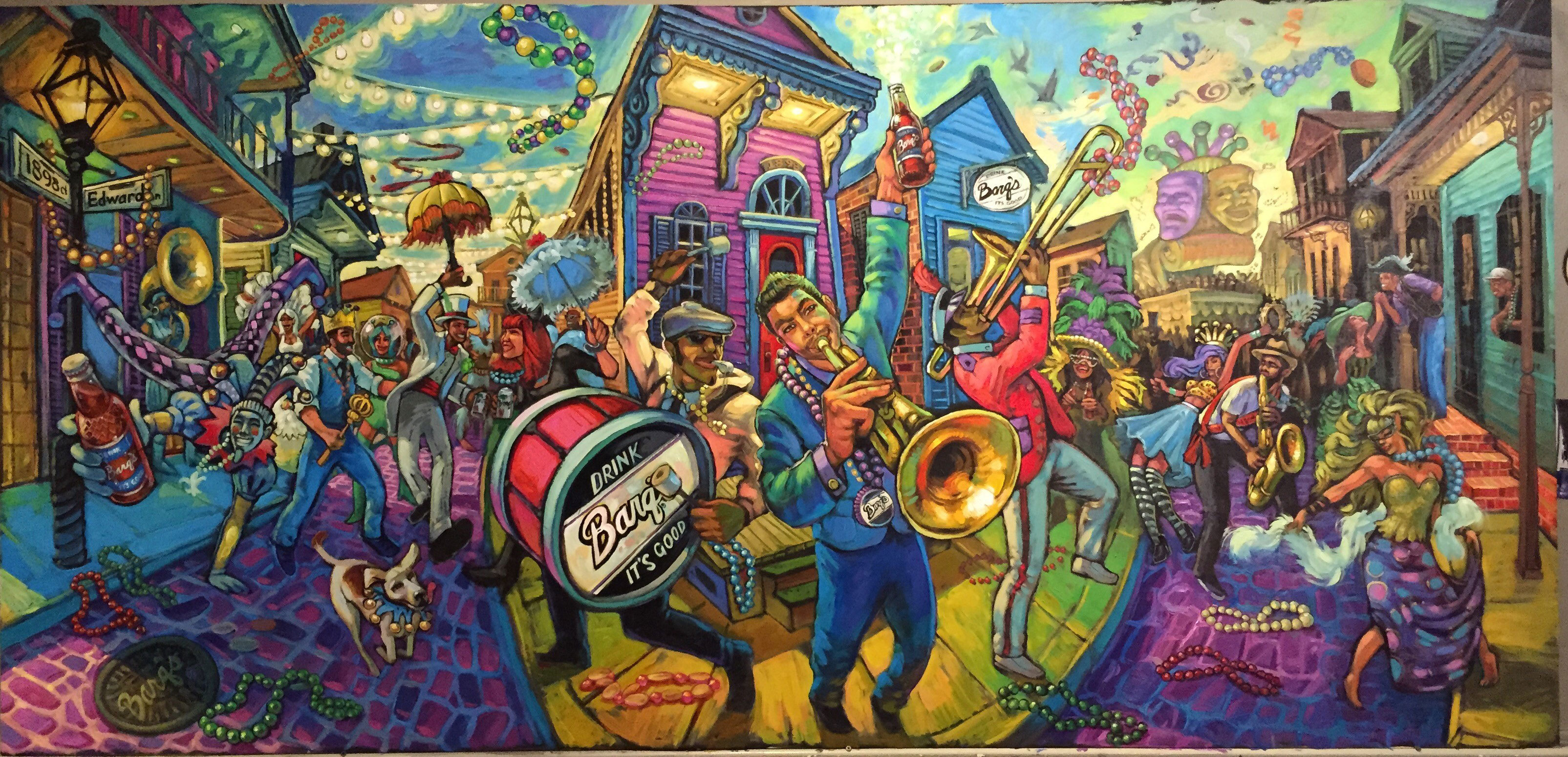New orleans artist to host meet and greet at calandro s for Craft store new orleans