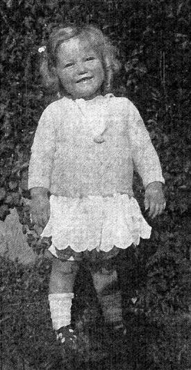 Hawkins at age 5.