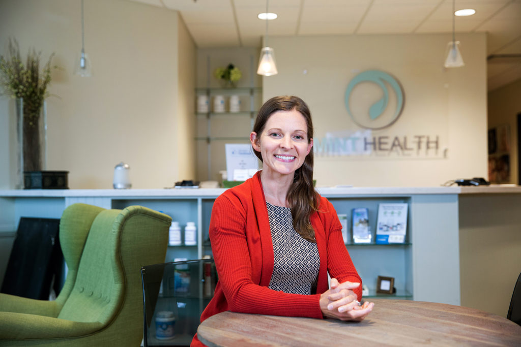 Betsy Buchert offers conventional OB-GYN care as well as a membership-based functional wellness program that includes specialized testing and health coaching.
