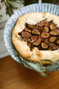 Almond and Fig Galette