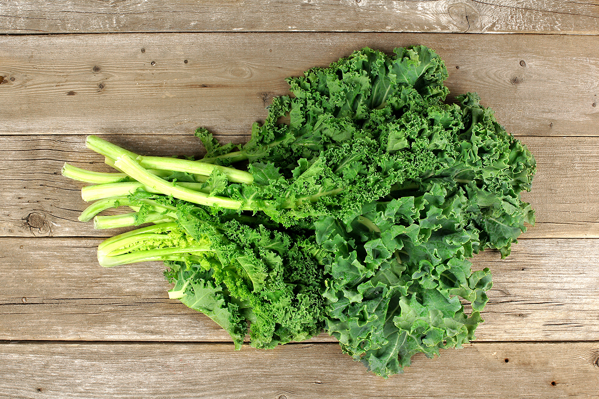 Incorporating kale into a simple soup significantly ups its healthiness quotient. Studies show the leafy green can lower cholesterol, help protect against cancer and improve eyesight.
