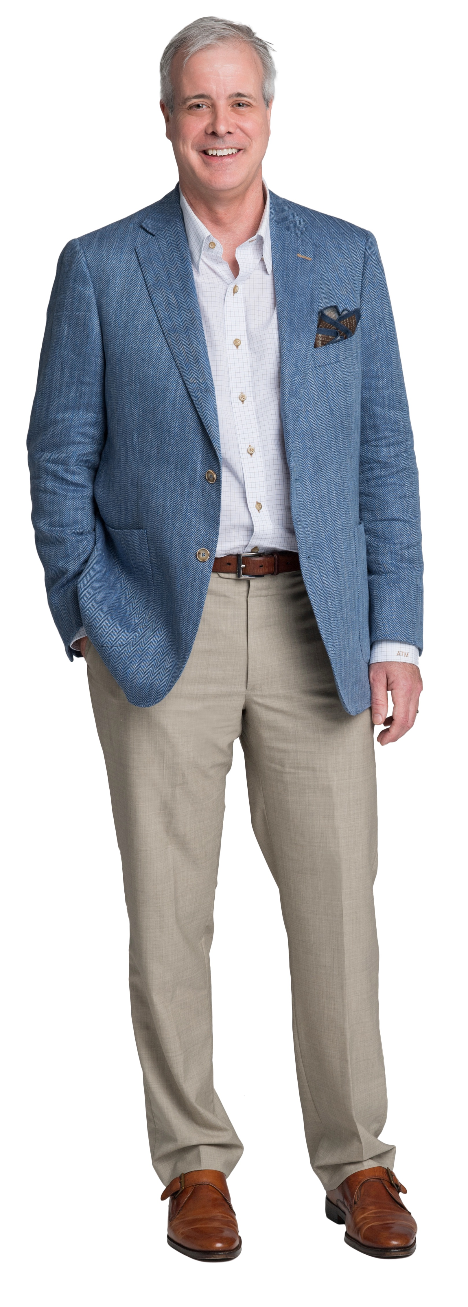 ... or less: Classic pieces with attention to detail. Fashion inspiration:  Henry Sands Brooks and Ralph Lauren Favorite designer: Peter Millar and  J.Hilburn